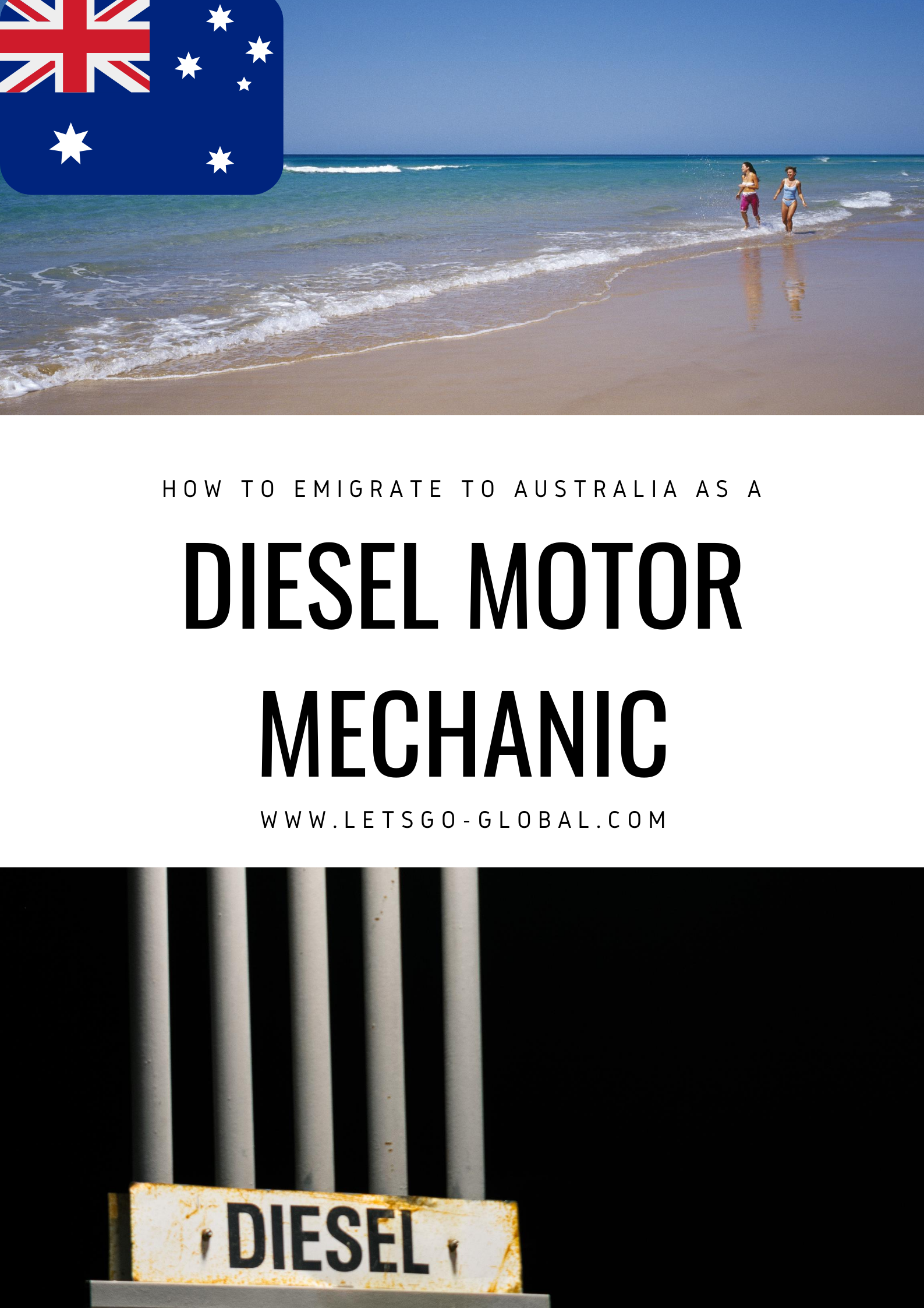 Migrate to Australia as a Diesel Motor Mechanic