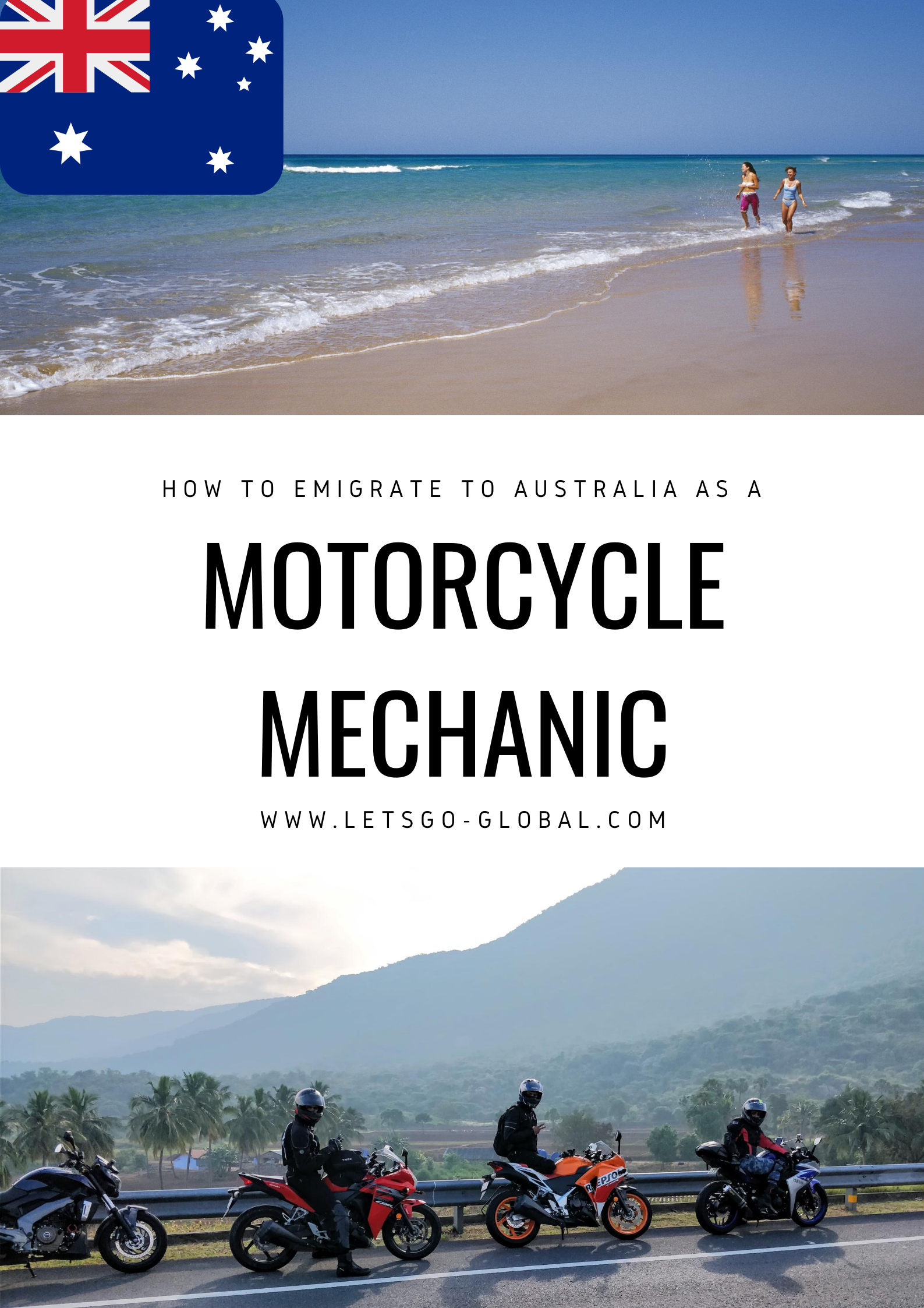 Migrate to Australia as a motorcycle mechanic